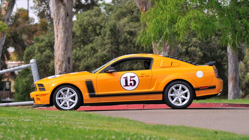 2007 Ford Mustang Saleen Parnelli Jones Edition 302/400 HP, 6-Speed, #49 of 500 Built presented as lot T167 at Monterey, CA 2013 - image2