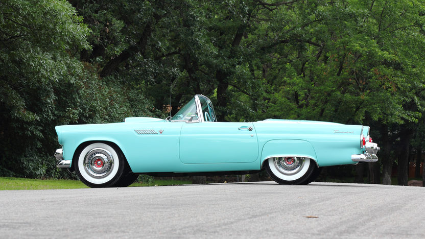 1955 Ford Thunderbird 292 CI, Automatic presented as lot T169 at Monterey, CA 2013 - image2