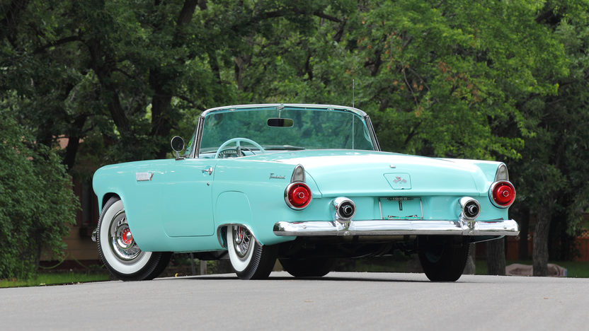 1955 Ford Thunderbird 292 CI, Automatic presented as lot T169 at Monterey, CA 2013 - image3