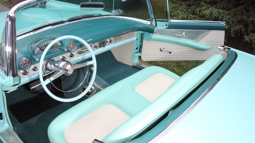 1955 Ford Thunderbird 292 CI, Automatic presented as lot T169 at Monterey, CA 2013 - image4