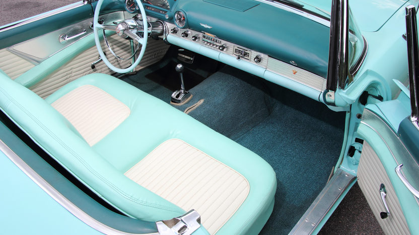 1955 Ford Thunderbird 292 CI, Automatic presented as lot T169 at Monterey, CA 2013 - image5