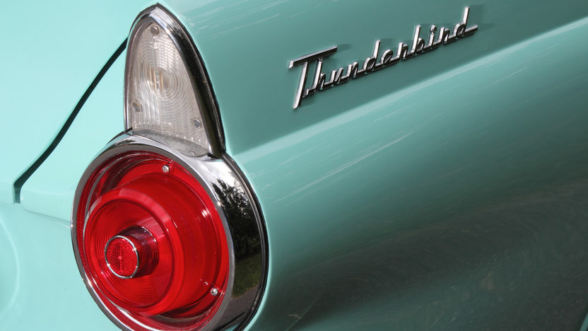 1955 Ford Thunderbird 292 CI, Automatic presented as lot T169 at Monterey, CA 2013 - image9