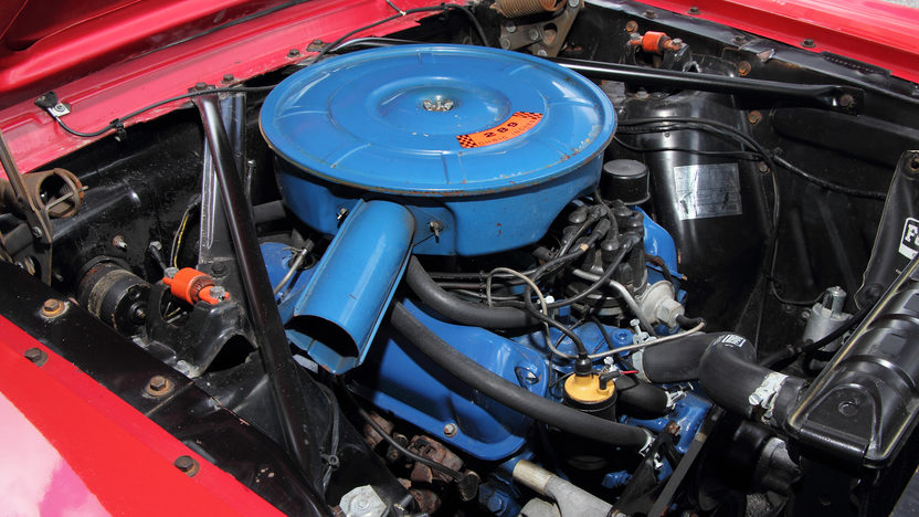 1966 Ford Mustang Convertible 289 CI, 4-Speed presented as lot T176 at Monterey, CA 2013 - image7