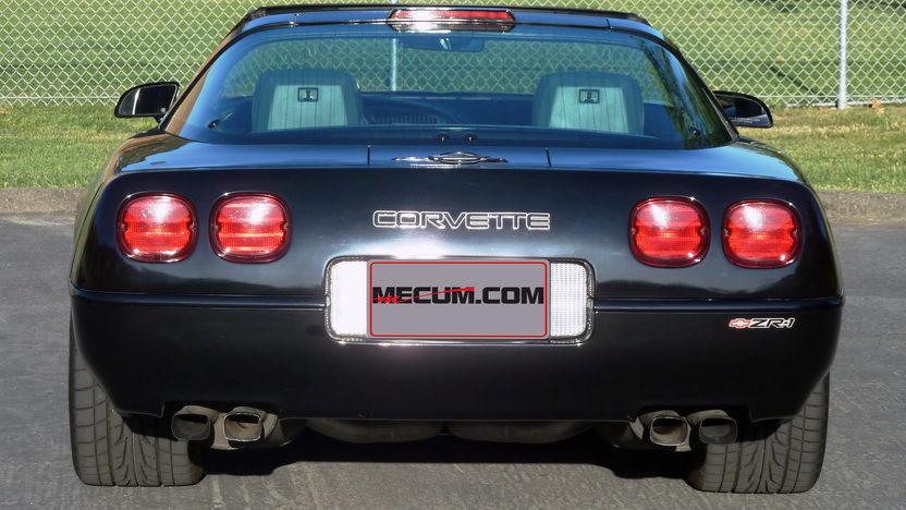1991 Chevrolet Corvette ZR1 Original Paint, 17,500 Miles presented as lot T191 at Monterey, CA 2013 - image3