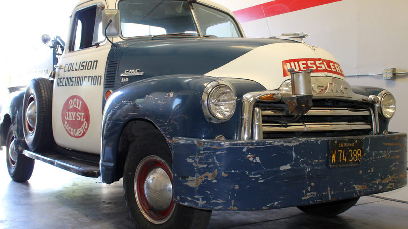 1949 GMC Tow Truck 228 CI, 4-Speed presented as lot T105 at Monterey, CA 2013 - image6