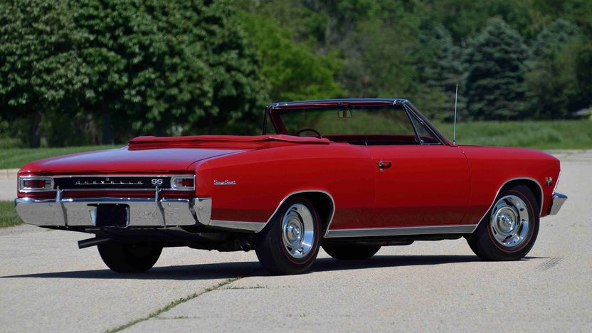 1966 Chevrolet Chevelle SS Convertible 396/360 HP, 4-Speed presented as lot F42 at Monterey, CA 2013 - image3