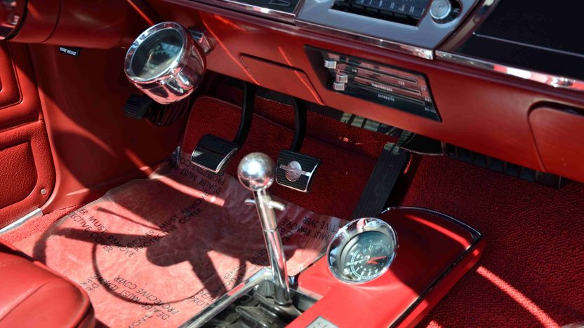 1966 Chevrolet Chevelle SS Convertible 396/360 HP, 4-Speed presented as lot F42 at Monterey, CA 2013 - image5
