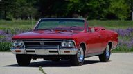 1966 Chevrolet Chevelle SS Convertible 396/360 HP, 4-Speed presented as lot F42 at Monterey, CA 2013 - thumbail image12