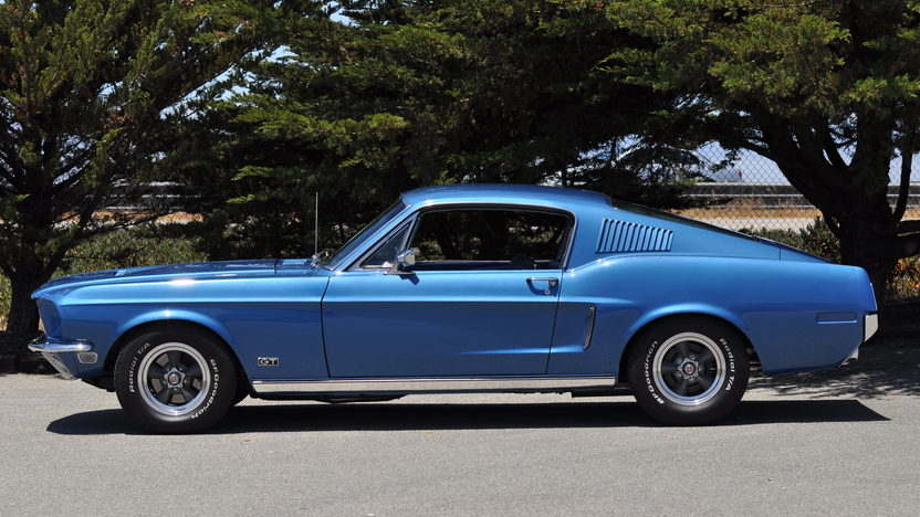 1968 Ford Mustang GT Fastback 390/320 HP, 4-Speed presented as lot F43 at Monterey, CA 2013 - image2
