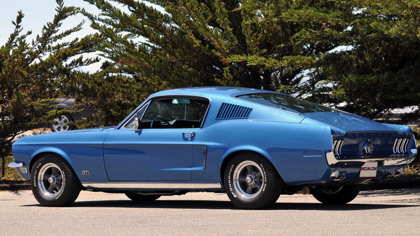 1968 Ford Mustang GT Fastback 390/320 HP, 4-Speed presented as lot F43 at Monterey, CA 2013 - image3