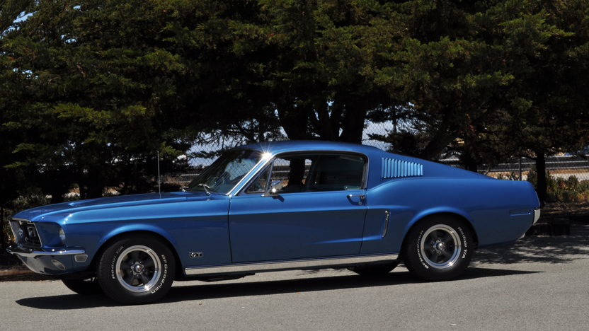 1968 Ford Mustang GT Fastback 390/320 HP, 4-Speed presented as lot F43 at Monterey, CA 2013 - image7