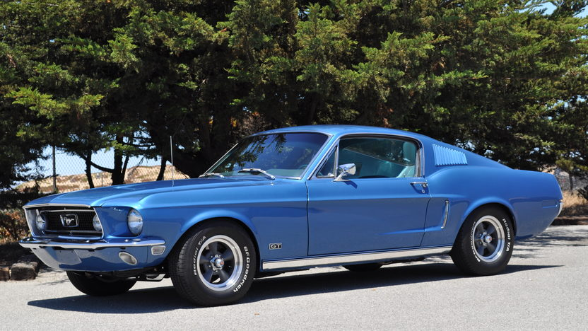 1968 Ford Mustang GT Fastback 390/320 HP, 4-Speed presented as lot F43 at Monterey, CA 2013 - image8