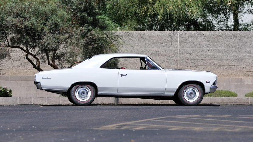 1966 Chevrolet Chevelle SS 396/350 HP, 4-Speed presented as lot F61 at Monterey, CA 2013 - image2