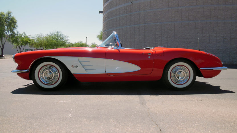 1958 Chevrolet Corvette Convertible 283 CI, 4-Speed presented as lot F75 at Monterey, CA 2013 - image8