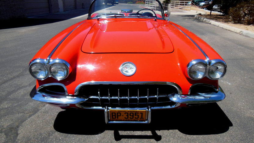 1958 Chevrolet Corvette Convertible 283 CI, 4-Speed presented as lot F75 at Monterey, CA 2013 - image9