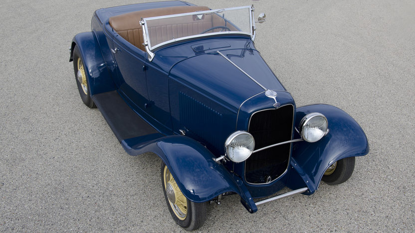 1932 Ford Roadster Tri-Power Flathead V-8 presented as lot F86 at Monterey, CA 2013 - image2
