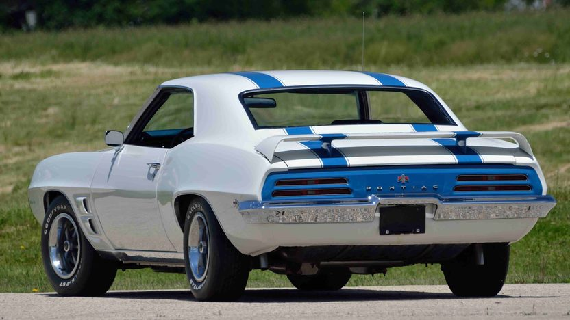 1969 Pontiac Trans Am 400/335 HP, 4-Speed, PHS Documentation presented as lot F176 at Monterey, CA 2013 - image10
