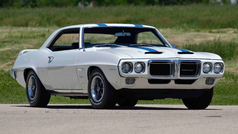 1969 Pontiac Trans Am 400/335 HP, 4-Speed, PHS Documentation presented as lot F176 at Monterey, CA 2013 - image12