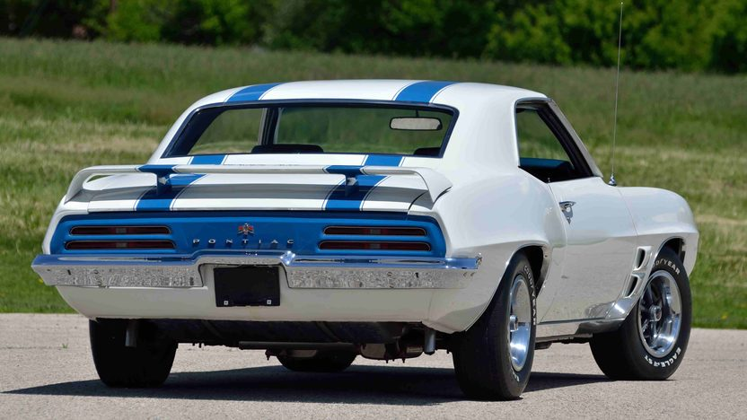 1969 Pontiac Trans Am 400/335 HP, 4-Speed, PHS Documentation presented as lot F176 at Monterey, CA 2013 - image3