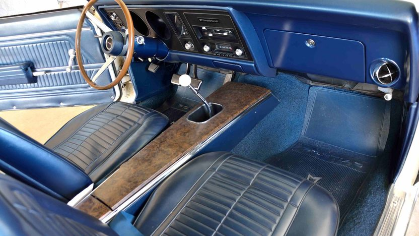1969 Pontiac Trans Am 400/335 HP, 4-Speed, PHS Documentation presented as lot F176 at Monterey, CA 2013 - image5