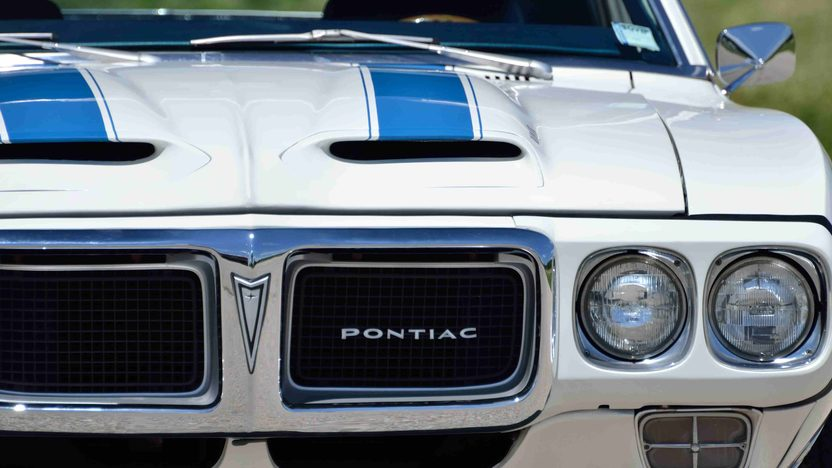 1969 Pontiac Trans Am 400/335 HP, 4-Speed, PHS Documentation presented as lot F176 at Monterey, CA 2013 - image8