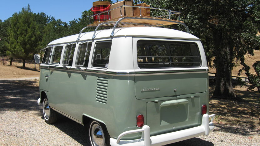 1965 Volkswagen Bus 1500 CC, 4-Speed presented as lot F91 at Monterey, CA 2013 - image3