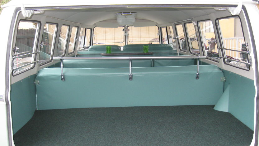 1965 Volkswagen Bus 1500 CC, 4-Speed presented as lot F91 at Monterey, CA 2013 - image7