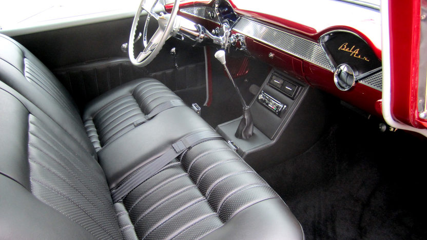 1955 Chevrolet Bel Air Sedan LS6/405 HP, Automatic presented as lot F94 at Monterey, CA 2013 - image2