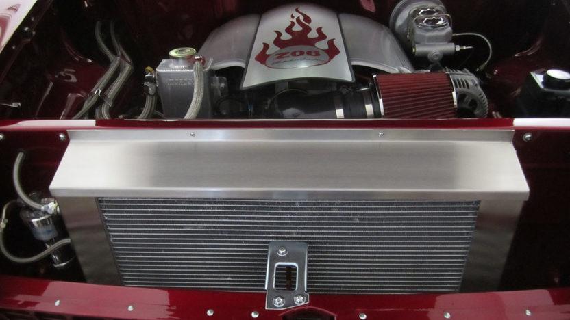 1955 Chevrolet Bel Air Sedan LS6/405 HP, Automatic presented as lot F94 at Monterey, CA 2013 - image4
