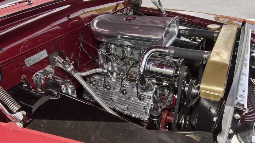 1949 Mercury Coupe Flathead V-8, Lake Pipes presented as lot F97 at Monterey, CA 2013 - image8