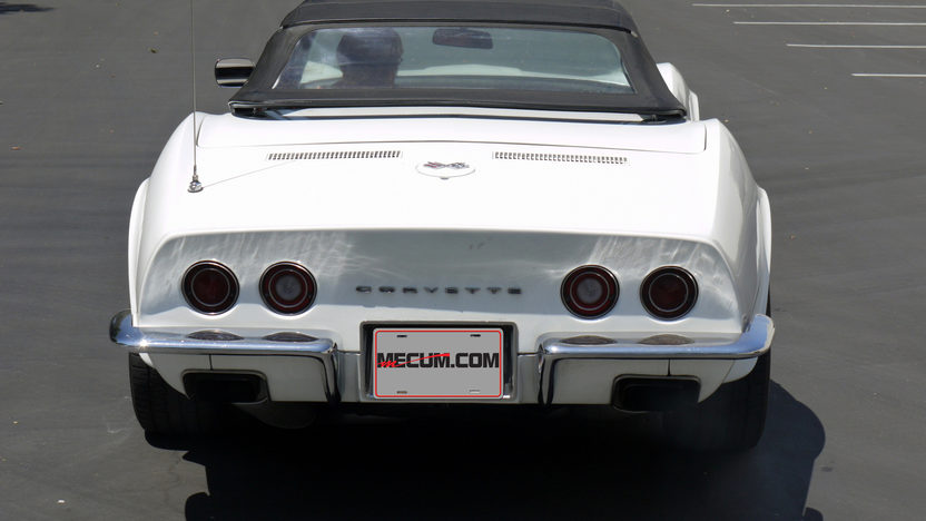 1970 Chevrolet Corvette Convertible 350/350 HP, 4-Speed presented as lot T125 at Monterey, CA 2013 - image2