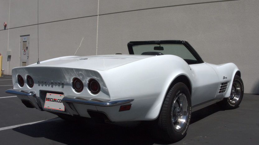 1970 Chevrolet Corvette Convertible 350/350 HP, 4-Speed presented as lot T125 at Monterey, CA 2013 - image7