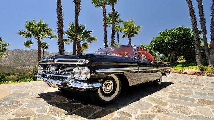 1959 Chevrolet Impala Fuelie 283/290 HP, 4-Speed presented as lot F119 at Monterey, CA 2013 - image12