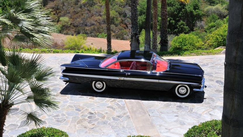 1959 Chevrolet Impala Fuelie 283/290 HP, 4-Speed presented as lot F119 at Monterey, CA 2013 - image2