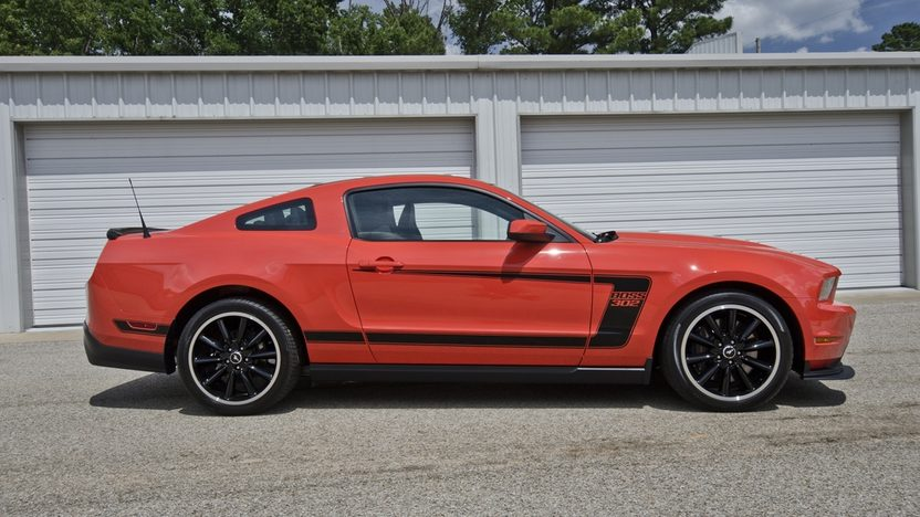 2012 Ford Mustang Boss 302 Street Edition Serial #1, Less than 1,000 Miles presented as lot F129 at Monterey, CA 2013 - image3