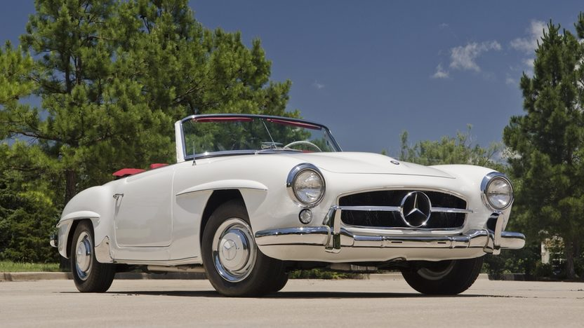 1958 Mercedes-Benz 190SL Roadster Same Owner for Three Decades presented as lot F131 at Monterey, CA 2013 - image12
