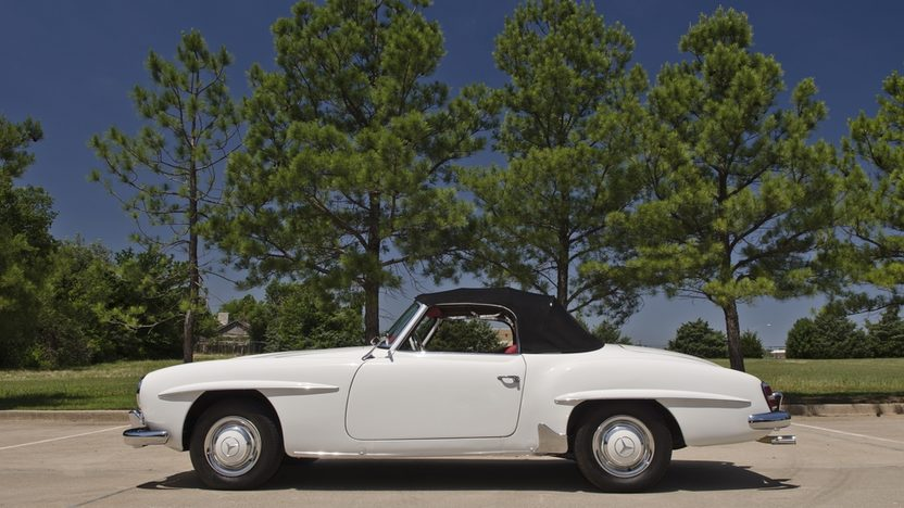 1958 Mercedes-Benz 190SL Roadster Same Owner for Three Decades presented as lot F131 at Monterey, CA 2013 - image2