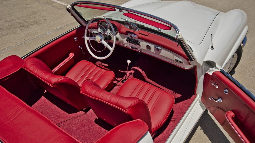 1958 Mercedes-Benz 190SL Roadster Same Owner for Three Decades presented as lot F131 at Monterey, CA 2013 - image4