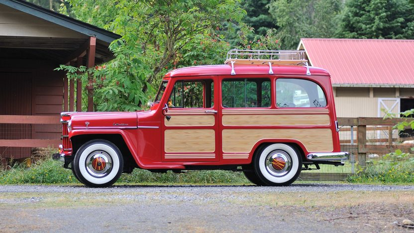 1957 Willys Jeep 6-226 Wagon Recent Restoration presented as lot F132 at Monterey, CA 2013 - image2