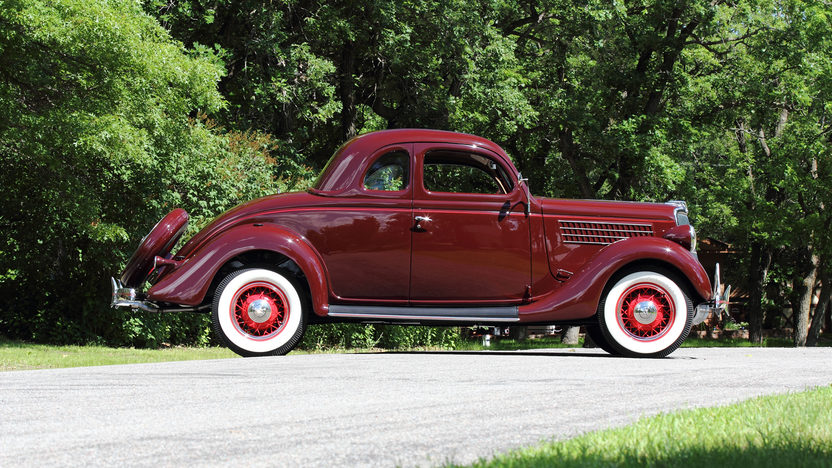 1935 Ford 5 Window Coupe Flathead V-8, Rumble Seat presented as lot F138 at Monterey, CA 2013 - image2