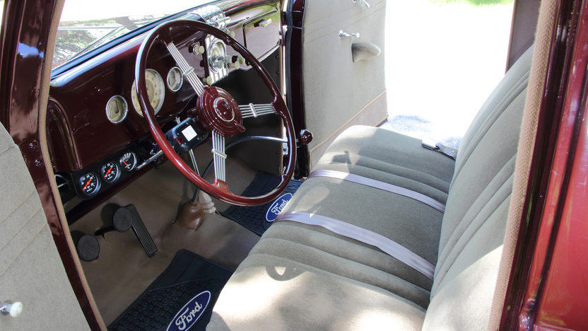 1935 Ford 5 Window Coupe Flathead V-8, Rumble Seat presented as lot F138 at Monterey, CA 2013 - image4
