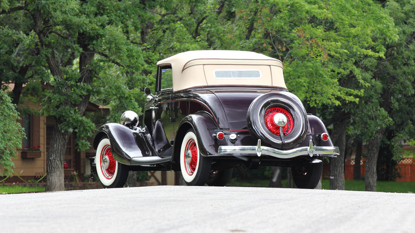 1934 Ford Deluxe Cabriolet Flathead V-8, Rumble Seat presented as lot F139 at Monterey, CA 2013 - image3