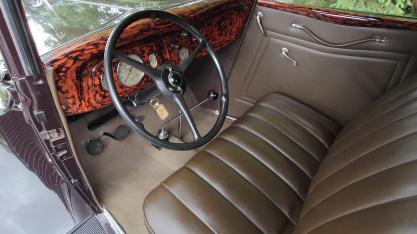 1934 Ford Deluxe Cabriolet Flathead V-8, Rumble Seat presented as lot F139 at Monterey, CA 2013 - image4