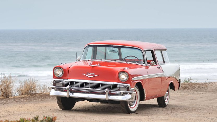 1956 Chevrolet Nomad Wagon 265 CI, Automatic presented as lot F145 at Monterey, CA 2013 - image11