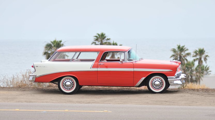 1956 Chevrolet Nomad Wagon 265 CI, Automatic presented as lot F145 at Monterey, CA 2013 - image2
