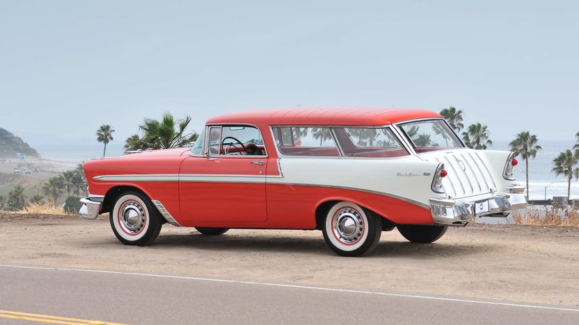 1956 Chevrolet Nomad Wagon 265 CI, Automatic presented as lot F145 at Monterey, CA 2013 - image3