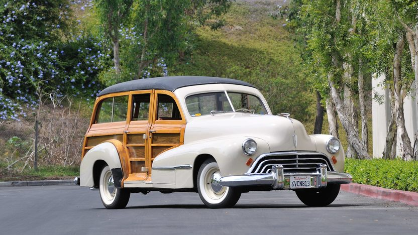 1947 Oldsmobile Woody Wagon 238 CI, One Owner Until 2006 presented as lot F147 at Monterey, CA 2013 - image12