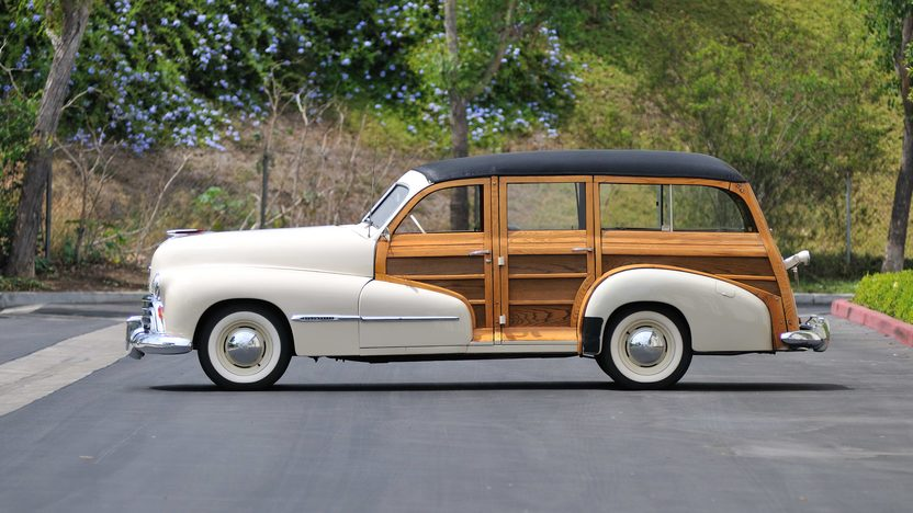 1947 Oldsmobile Woody Wagon 238 CI, One Owner Until 2006 presented as lot F147 at Monterey, CA 2013 - image2
