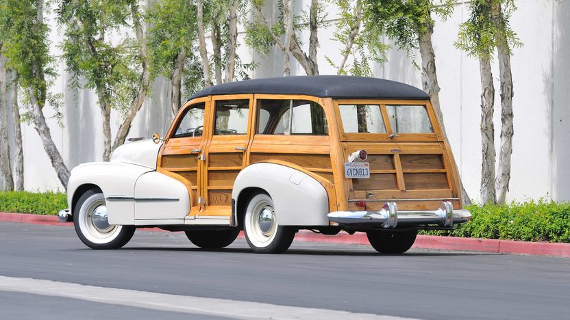 1947 Oldsmobile Woody Wagon 238 CI, One Owner Until 2006 presented as lot F147 at Monterey, CA 2013 - image3