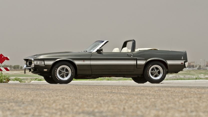 1969 Ford Shelby GT500 Convertible presented as lot F148 at Monterey, CA 2013 - image3
